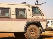 Nyala Armoured Personnel Carriers